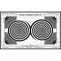 DSC Labs Fiddlehead / BackFocus Senior Focus Pattern & Resolution Chart