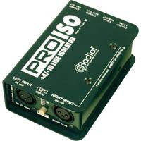 Radial Engineering Pro-ISO +4/-10 dB Stereo Line Isolator