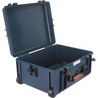 Porta Brace PB-2650E Wheeled Hard Case, Empty Shell (Blue)