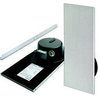 Bogen Communications CSD1X2 - Drop-in Ceiling Mounted Speaker with Back Can  (Off White)