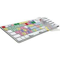 LogicKeyboard LogicSkin Apple Final Cut Pro Keyboard Cover for Apple Ultra-Thin Aluminum Keyboard