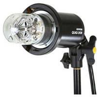 Bowens Quad 3KM Mini Flash  Head with UV Corrected Dome