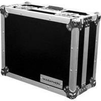 Marathon MA-1200 Flight Road DJ Turntable Case (Black and Chrome)