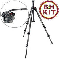 Manfrotto 190CX3 Carbon Fiber Tripod System with 501 HDV Head