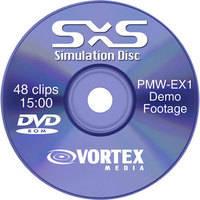 Vortex Media DVD: Sony EX1 SxS Simulation Disc