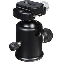 Kirk BH-3 Ballhead with Quick Release - Supports 15 lbs (6.8kg)