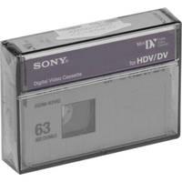 Sony HDM63VG VG HDV Cassette (Videographer Grade )
