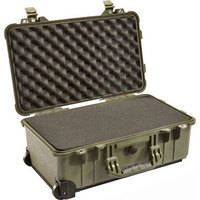Pelican 1510 Carry On Case with Foam Set (Olive Drab)