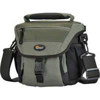 Lowepro Nova 140 AW Shoulder Bag (Chestnut Brown with Black Trim)
