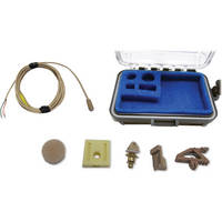 Voice Technologies VT401 Professional Miniature Omnidirectional Lavalier Microphone (Beige )