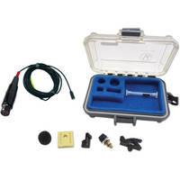 Voice Technologies VT401 Professional Miniature Omnidirectional Lavalier Microphone (Black)