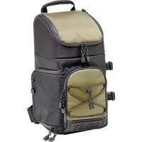 Tenba Shootout Sling Bag, Medium (Black with Olive Trim)