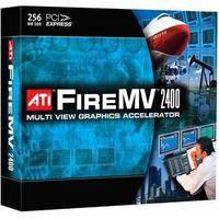 ATI FireMV 2400 PCI Express x1 Workstation Display Card (Bulk Pack)