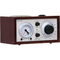 Tivoli Platinum Series Model Three AM/FM Clock Radio (Dark Walnut/Beige)