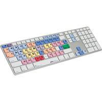 LogicKeyboard Pro Line Avid Media Composer Apple Ultra-Thin Aluminum Keyboard