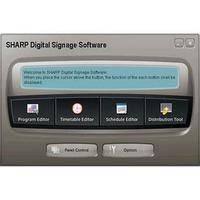 Sharp PN-SS02 Sharp Digital Signage Software (SDSS) Network Version