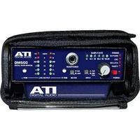 ATI Audio Inc DM500 Portable Digital Audio Monitor and D/A with Case and Battery Clip (No Power Supply)