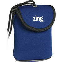 Zing Designs Camera Pouch, Large (Blue)