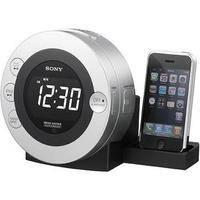 Sony ICF-CD3iPSIL CD Clock Radio for iPod and iPhone