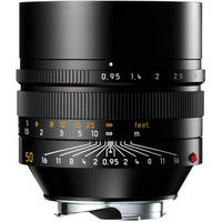 Leica Noctilux-M 50mm f/0.95 ASPH Lens (Black)