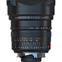 Leica 21mm f/1.4 Summilux-M Aspherical Manual Focus Lens - Black