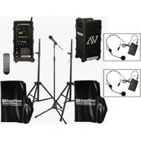 AmpliVox Sound Systems B9154-HS2 Platinum Digital Audio Travel Partner Package