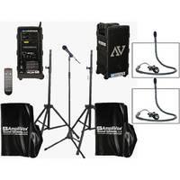 AmpliVox Sound Systems B9154 Platinum Digital Audio Travel Partner Package