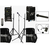 AmpliVox Sound Systems B9154-HHHS Platinum Digital Audio Travel Partner Package