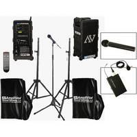 AmpliVox Sound Systems B9154-HHL Platinum Digital Audio Travel Partner Package