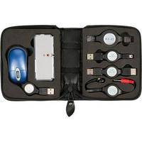 CTA Digital 6-in-1 USB Travel Kit