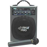 Pyle Pro PWMA600 100W Portable PA with Wireless Microphone