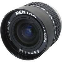 """Pentax C30405KP 2/3"""" C Mount 4.8mm f/1.8 Manual Iris Lens"""