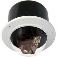 """Videolarm RM7C12N 7"""" FusionDome Outdoor IP Ready Vandal Resistant Recessed Mount PTZ Housing"""