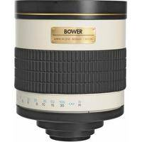 Bower 800mm f/8 Manual Focus Telephoto T-Mount Lens