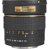 Bower 85mm f/1.4 Manual Focus Telephoto Lens for Nikon
