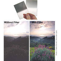 Singh-Ray 84 x 120mm Galen Rowell 0.3 Soft-Edge Graduated Neutral Density Filter
