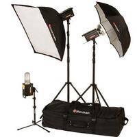 "Norman 3 ""R"" Monolight, Umbrella/Softbox Kit (120VAC)"