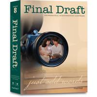 Final Draft Final Draft 8.0 Screenwriting Software for Mac and Windows