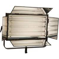 Smith-Victor FLO-220FLO-220 220W Dimmable Fluorescent 4-Lamp Bank with Barndoors (120V AC)