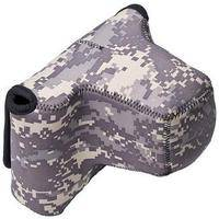 LensCoat BodyBag Pro with Lens (Digital Camo)