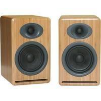 Audioengine P4 2-Way Passive Bookshelf Speakers (Bamboo, Pair)