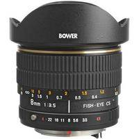 Bower SLY 358P 8mm f/3.5 Fisheye Lens For Pentax  APS-C Cameras