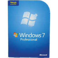 Microsoft Windows 7 Professional (32- or 64-bit) (Upgrade from XP or Vista Business)