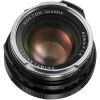 Voigtlander Voigtlander Nokton 40mm f/1.4 M-Mount Lens (Single Coated)