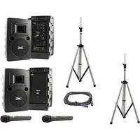 Anchor Audio Liberty Platinum Deluxe Package LDP-7500 - PA with Wireless Mics