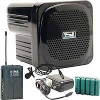 Anchor Audio AN-Mini Deluxe Package (Black) - PA w/ Wireless Lapel Mic & Recharge Kit