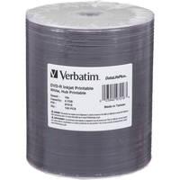 Verbatim DVD-R 4.7GB 16x Inkjet Printable Disc (100-Pack)