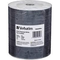 Verbatim CD-R 80 High Speed, Thermal Printable Compact Disc (Spindle Pk of 100)