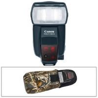 Canon 580EX II Speedlite TTL Shoe Mount Flash for E-TTL II  Kit