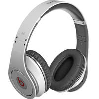 Monster Power Beats by Dr. Dre Studio High-Definition Isolation Headphones (White)